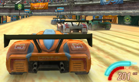 Corrida de Carros 3D na Areia
