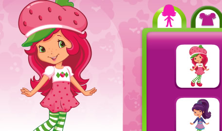 Strawberry Shortcake in Fashion Boutique