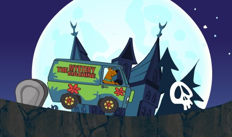 Scooby Doo Drive in Cemetery