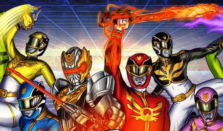 Power Rangers Megaforce Never Surrender