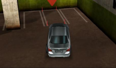 Estacionar o BMW no Parque em 3D