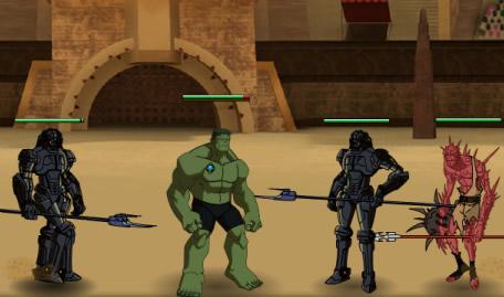 Planeta Hulk e os Gladiadores