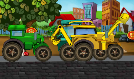 Bob the Builder Tractors Race