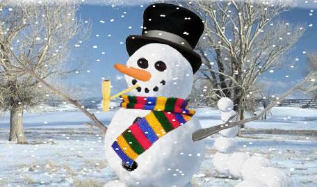 Machen Sie ein Schneemann