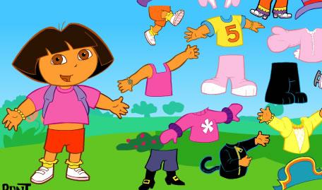 Vestir Roupas à Dora Exploradora