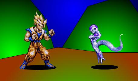 Dragonball Z Flash Dimensão 2 Jogadores