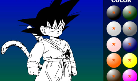 Colorir Dragonball