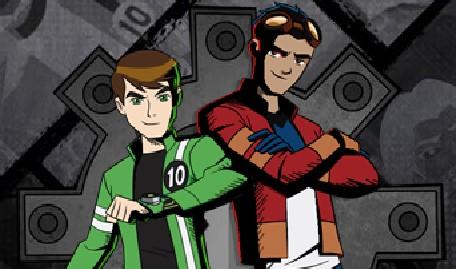 Ben 10 and Generator Rex Heroes United
