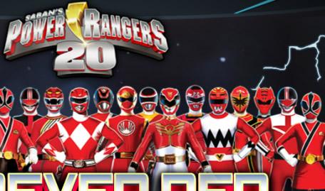 Power Ranger Vermelho