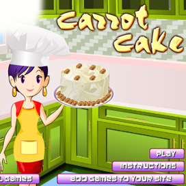 Carrot Cake Cooking - 1