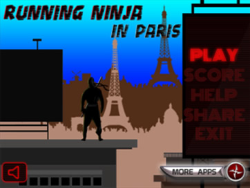 Running Ninja: Paris FREE - 1