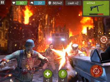 Zombie Call: Modern Trigger of Dead Combat Shooter - Action Duty Hunter Arcade 3D - 27
