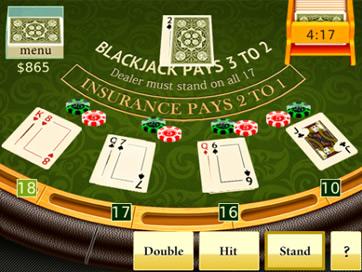Blackjack jeux gratuit blackberry