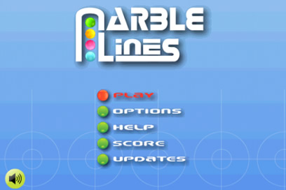 Marble Lines Free - Addictive Arcade Ball Game for your BlackBerry - 1