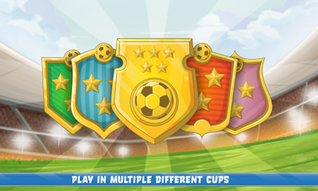 Soccer Real Cup: Flick Football World Kick League - 3