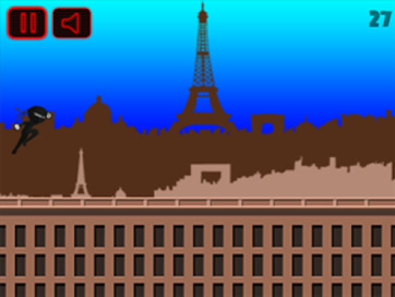 Running Ninja: Paris FREE - 2