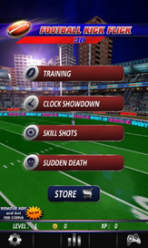 Football Kick Flick Pro:Rugby - 14