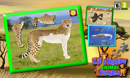 Children's Animal Jigsaw Puzzles - 1