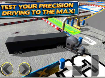 3D Trucker Parking Simulator Game Free - 2