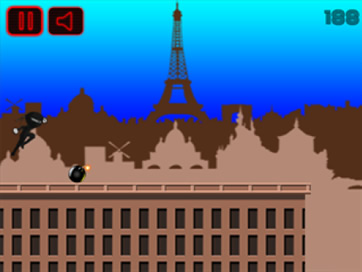 Running Ninja: Paris FREE - 3