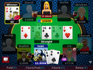 Texas Hold'em Poker Online - Holdem Poker Stars - 8
