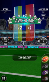 Football Kick Flick Pro:Rugby - 4