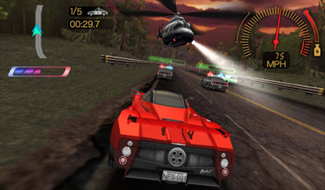 NEED FOR SPEED Undercover for BlackBerry PlayBook - 2