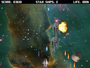 Space Combat Nebula Free - 3