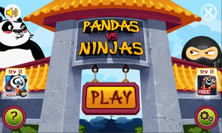 Pandas vs Ninjas - 1