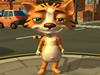 Talking running Casper Cat 3D