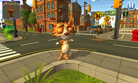 Talking running Casper Cat 3D - 3