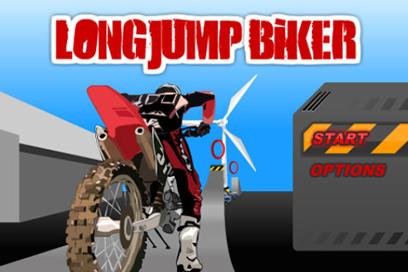 Long Jump Biker Free - 18