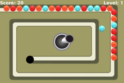 Marble Lines Free - Addictive Arcade Ball Game for your BlackBerry - 3