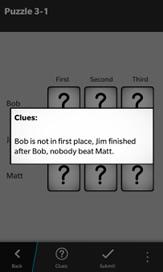 Logic Puzzles - 3
