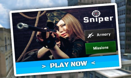 Sniper Ops 3D: Kill Terror Shooter - 3