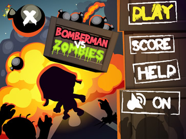 Bomberman vs Zombies - 2
