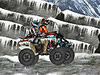 All Terrain Vehicle Race in Snow