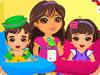 Dora s'Occupe de ses Frères