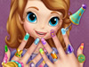 Manicure of the Sofia the First