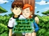 Ben 10 And Gwen Jigsaw