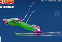 Ski Erstaunliche Sprünge
