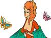 Colorear a la Princesa Niña