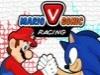 Mario vs Sonic Racer