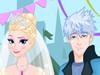 La Reine des Neiges Robe de Mariée