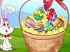 Panier d'Oeuf de Pâques
