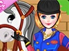 Girl and Horse Dressup