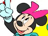 Coloring Minnie