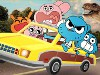 Gumball Drives the Car