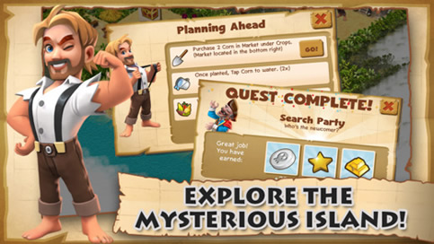Shipwrecked Lost Island - 3