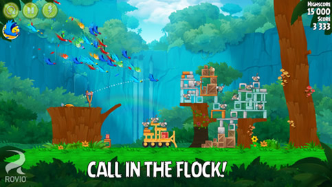 Angry Birds Rio - 1